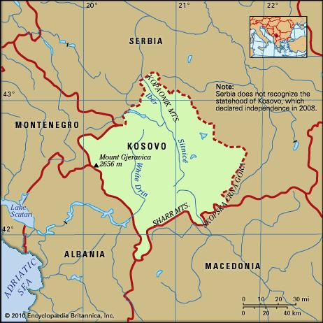 Image result for kosovo map self-determination