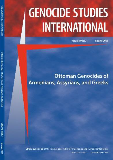 Genocide Studies International New Issue Dedicated to Centenary of the Armenian, Assyrian and Greek Genocides