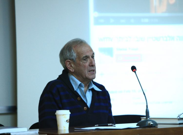 Professor Yair Auron Critiques Israel's Arms Sales to Countries Committing Genocide