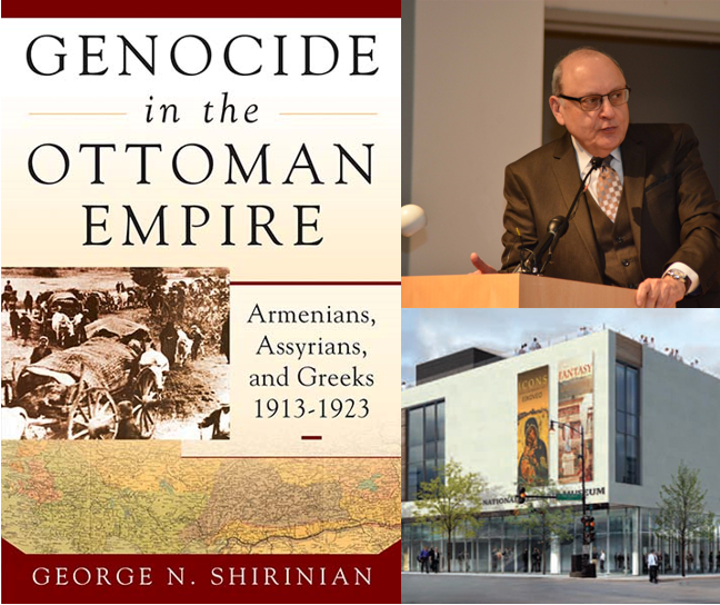 George Shirinian at the National Hellenic Museum in Chicago