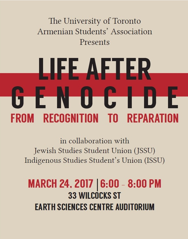 Invitation To A Panel Discussion At University Of Toronto Life