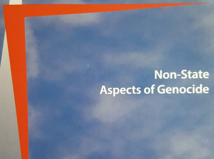 Non-State Aspects of Genocide: An Exclusive Interview with Co-Editor of Genocide Studies International