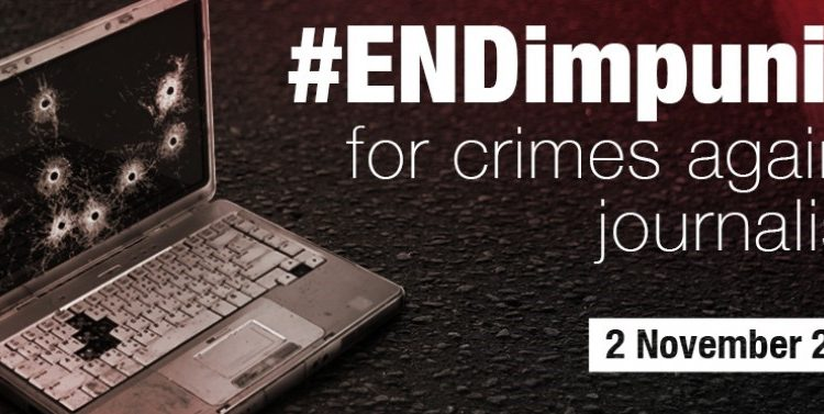 The International Day to End Impunity for Crimes against Journalists