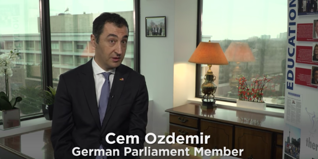 Cem Ozdemir Interview and Speech: Hrant Dink Tribute 2017