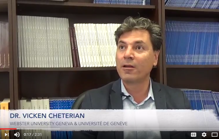 Genocide Denial & its Impact on Turkish Society: An Exclusive Interview with Dr. Vicken Cheterian
