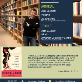 Book Talk with Dr. Stefan Ihrig: Toronto