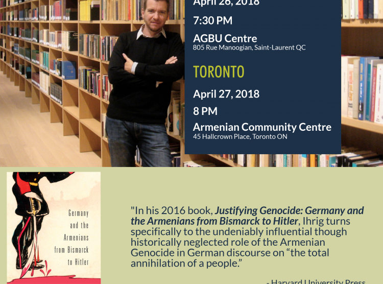 Book Talk with Dr. Stefan Ihrig: Montreal