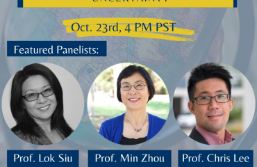 WEBINAR: Chinese Diaspora: Challenges and Possibilities in a Time of Uncertainty