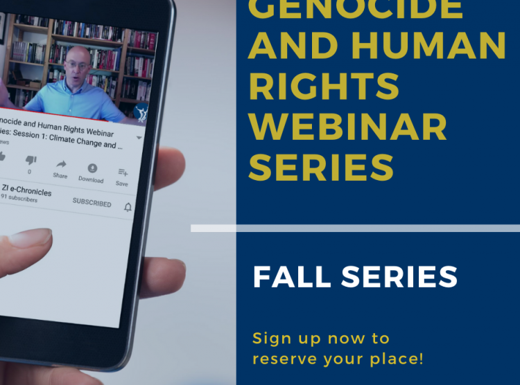 Genocide and Human Rights Webinar Series: Fall 2020