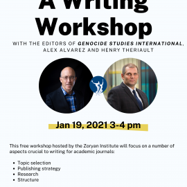 Publishing in Academic Journals: A Writing Workshop