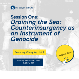 Genocide and Human Rights Webinar Series, Winter 2021