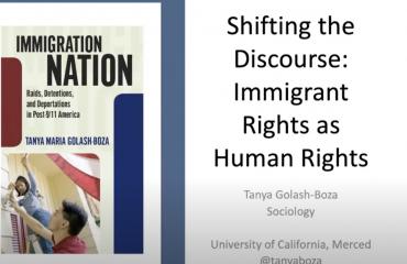 Immigrant Rights are Human Rights with Prof. Tanya Golash-Boza (Genocide and Human Rights Webinar Series, Fall 2020)
