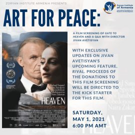 Art For Peace: A Film Screening of Gate to Heaven and a Q&A with Director Jivan Avetisyan