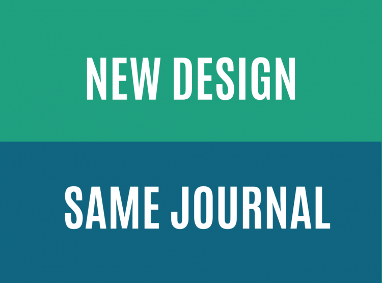 New Design – Same Journal, Celebrating 30 Years Of Diaspora