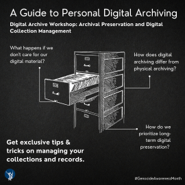 Upcoming Webinar: A Guide to Personal Digital Archiving