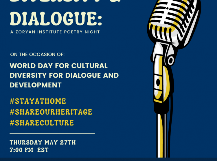 Diversity and Dialogue: A Zoryan Institute Poetry Night