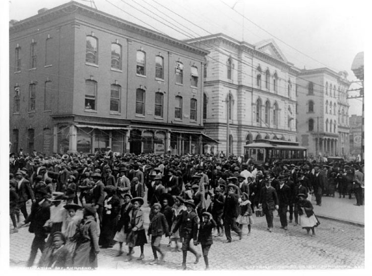 Celebrating Juneteenth: The importance of symbolism and visual representation in forming collective memory