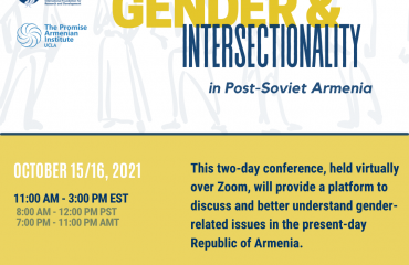 Conference Recording: Gender & Intersectionality in Post-Soviet Armenia