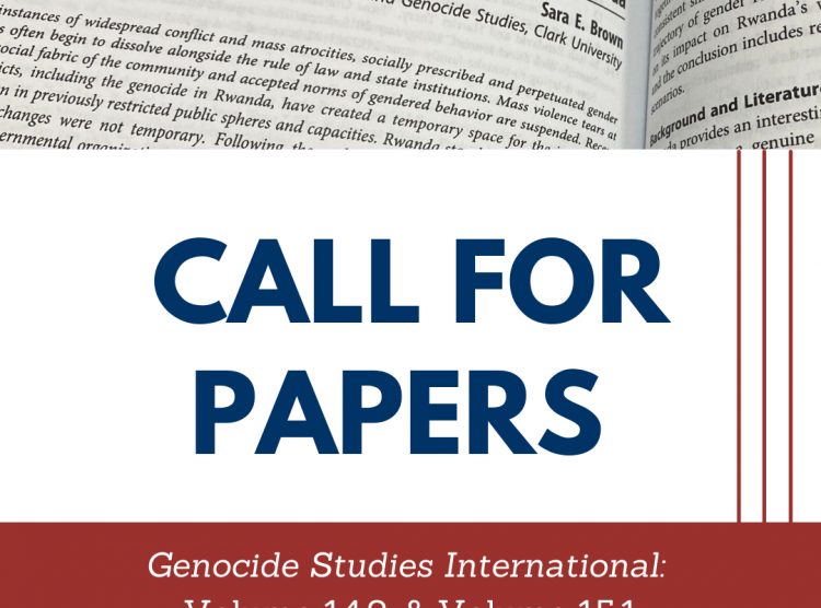 Genocide Studies International: Call For Papers
